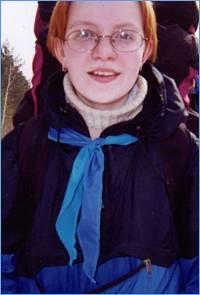 Аня Лисицина и ее галстук