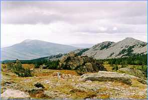 г. Круглица (1178 м) и Волчий гребень