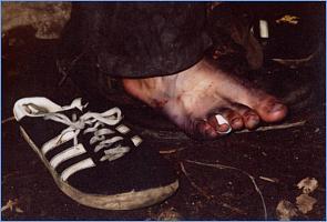 Нога для ароматной стельки