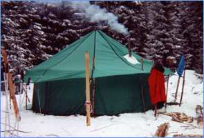 Палатка 'Зима'